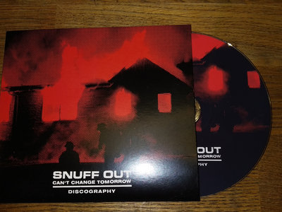 SNUFF OUT - Can't Change Tomorrow Discography CD main photo