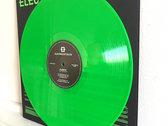 "ONE PER CUSTOMER PLEASE - fluro green 12"" mini-album with screen printed, handmade cover photo"