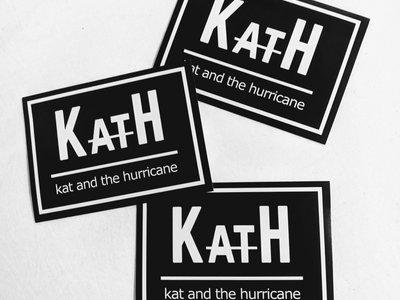 KatH Black Sticker (3-Pack) main photo