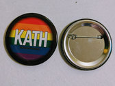"2.25"" KatH Rainbow Button photo"