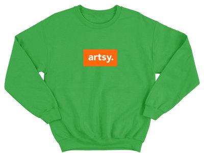 Artsy Green Sweatshirt main photo