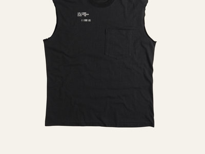 """SONG FOR THE MUTE WITH SVEN VÄTH - """"SET"""" SLEEVELESS TANK / LIMITED EDITION main photo"""
