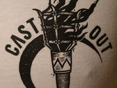 Cast Out Torch T-shirt photo