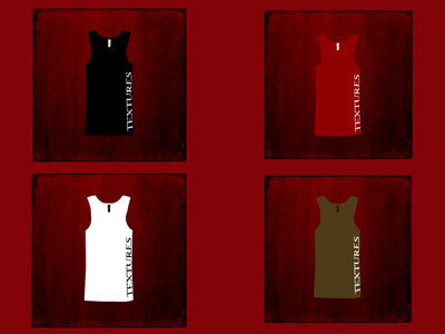 Textures Logo Tank Top (available in Black, Red, White & Brown) main photo
