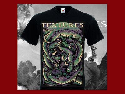 Lizards design Unisex T-shirt Grey main photo