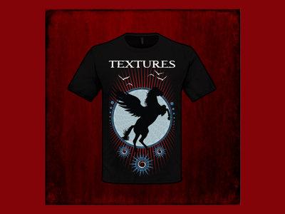 Black Horse design Unisex T-shirt Black main photo