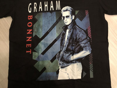 GRAHAM BONNET - RETRO 80'S DESIGN SHIRT main photo
