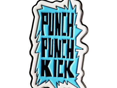 Punch Punch Kick Enamel Pin main photo