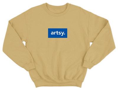 Artsy Old Gold Sweatshirt main photo