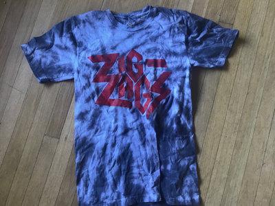 """Zig Zags Logo T-shirt """"Tie Dye"""" main photo"""
