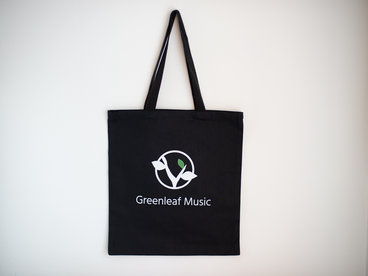Greenleaf Music Black Tote Bag main photo
