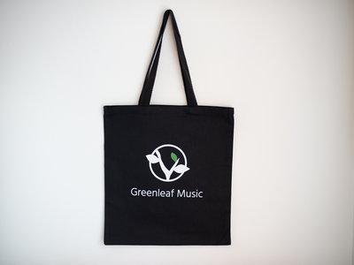 Greenleaf Music Black Tote Bag main photo