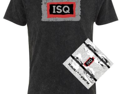 ISQ RFTF T-Shirt Bundle: 20% off Acid Black T-Shirt plus CD main photo