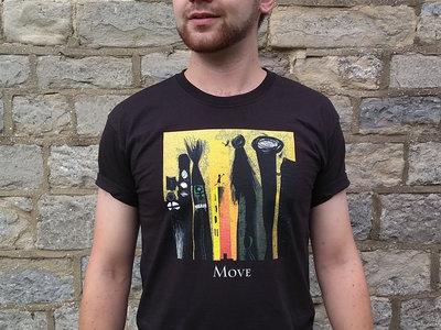 'Move' T-shirt Black main photo