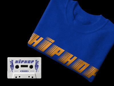 HIP HOP Bundle: Logo Crewneck Sweatshirt & Cassette Tape main photo
