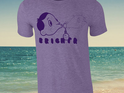Purple Bubble Blower Tee *includes download of Two Sides* main photo