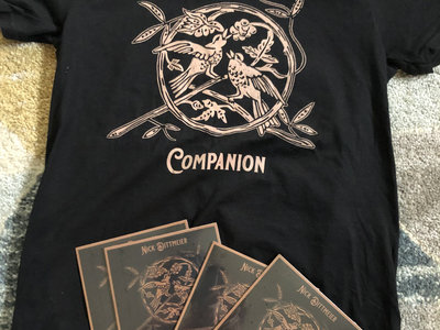 "Limited edition - ""Companion"" T-shirt & CD bundle + Stickers + digital download main photo"