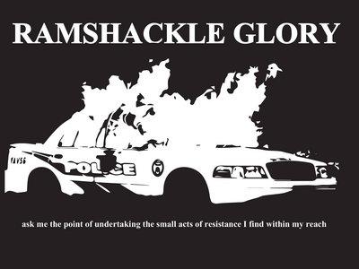 Burning Toronto Police Car (T-Shirt) main photo