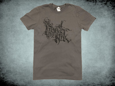 Calligraphy Logo T Shirt - Grey main photo