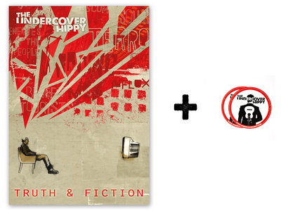 """""""Truth & Fiction"""" Poster + free stickers main photo"""