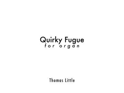Quirky Fugue for Organ main photo