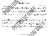 Quirky Fugue for Organ photo
