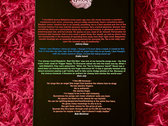 LYRIX - signed to you with a message written as a 2/3 line lyric bookmark photo