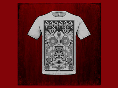 Maze design unisex T-shirt Grey main photo