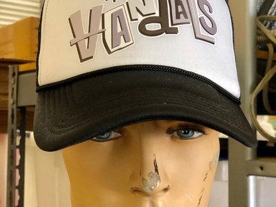 Trucker Hat Black & White Paul Frank Logo main photo