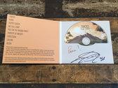 Limited Edition Signed Tracks CD/Monochrome Acid Shirt Bundle photo