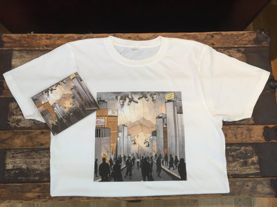 Limited Edition Signed Tracks CD/Full Colour Art Shirt Bundle main photo