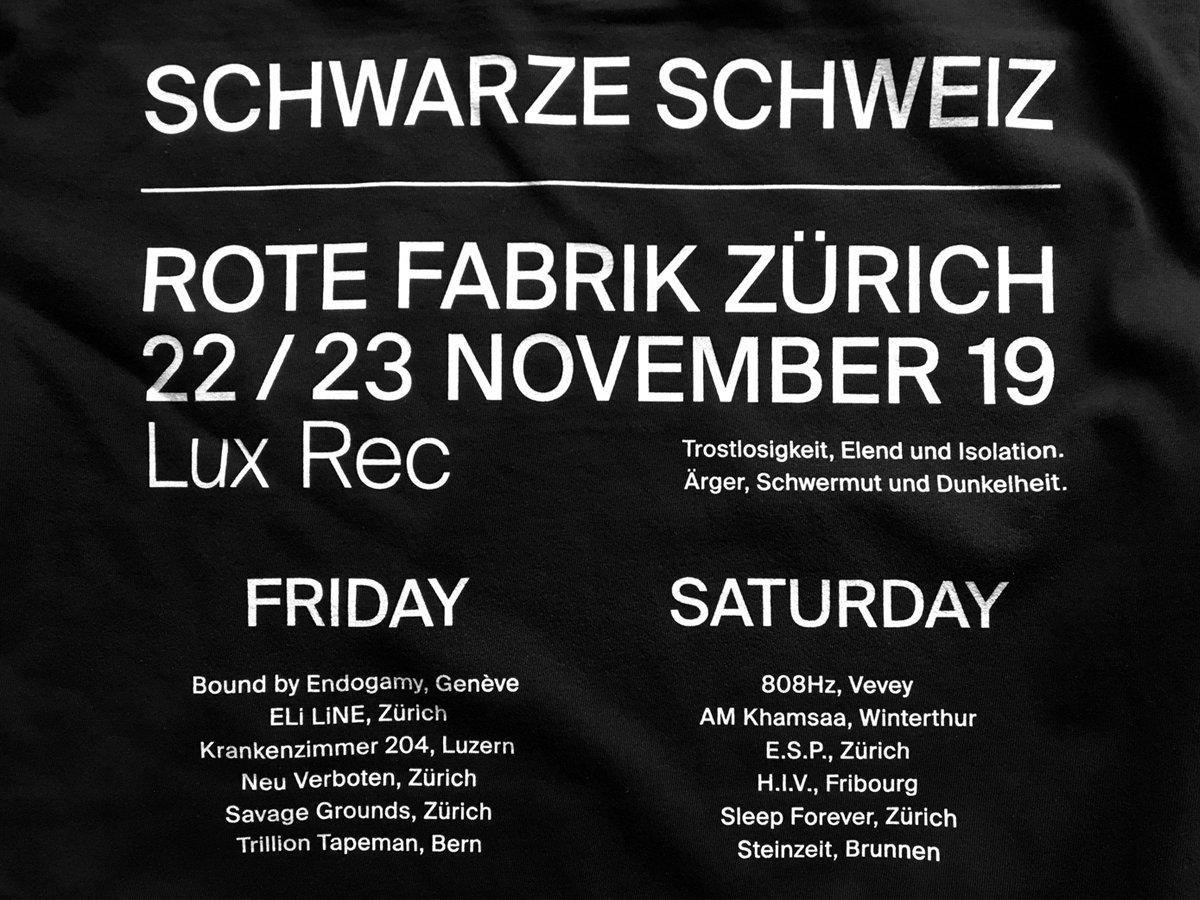Schwarze Schweiz Pt 2 Various Artists Lux Rec