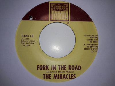 FORK IN THE ROAD - THE MIRACLES - NM main photo