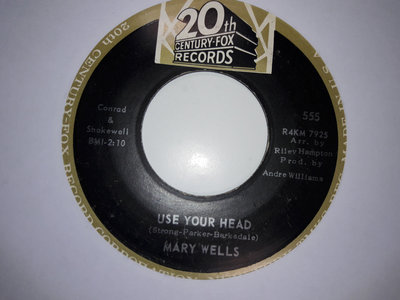 USE YOUR HEAD - MARY WELLS - NM main photo