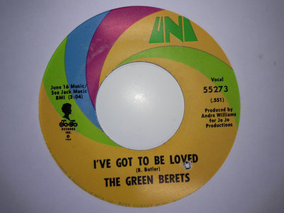 IVE GOT TO BE LOVED - THE GREEN. BERETS - NM main photo