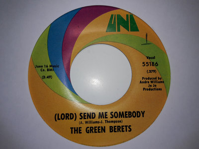 LORD SEND ME SOMEBODY - THE GREEN BERETS - NM main photo