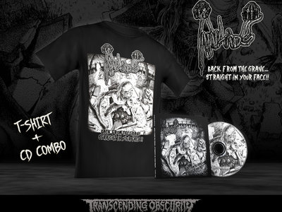 INNARDS Album artwork T-shirt + 8-Panel Digipak CD Combo main photo