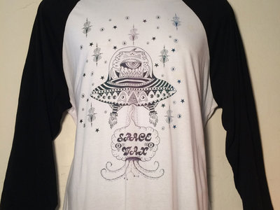 Space Wax/DOGT collaboration shirt (black sleeves) main photo