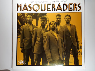 WE FELL IN LOVE - THE MASQUERADERS - NM main photo