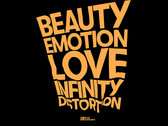 Beauty Emotion Love Infinity Distortion T-shirt photo