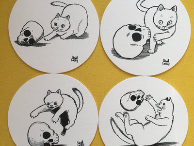 What's This Death Cat & Skull Coasters main photo