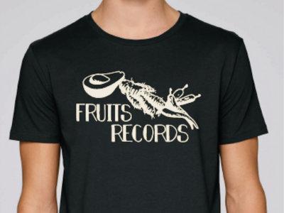 Fruits Records - Screen Print Black T-Shirt main photo