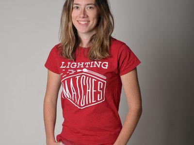 Women's Style T-Shirt (Red) main photo
