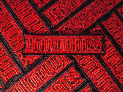 THANATOMASS Red Logo Patch main photo
