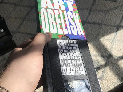 SERIAL ART OBELISK • ISSUE ZERO • VHS VIDEOZINE main photo