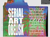 SERIAL ART OBELISK • ISSUE ZERO • VHS VIDEOZINE photo