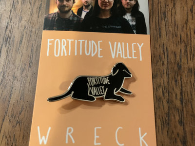 Fortitude Valley enamel badge on card backer main photo