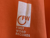 First Word Logo Tee photo