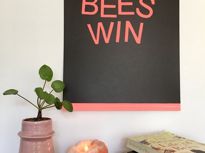 Limited Varied Edition 'Bees Win Lithograph Print main photo