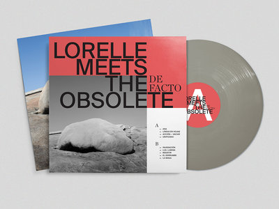 De Facto – grey vinyl LP main photo